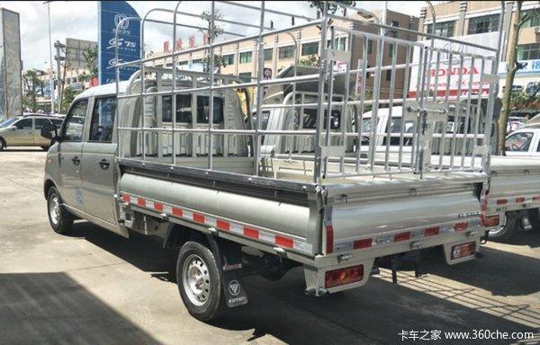 达州惠佳汽贸祥菱V载货车成功交付客户