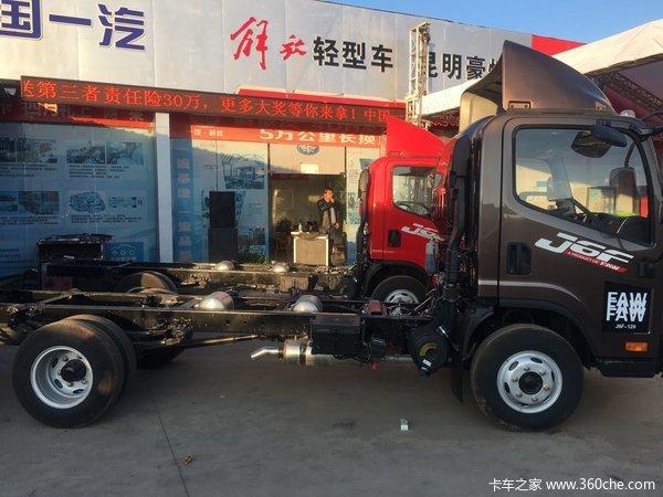 新车促销昆明豪情J6F载货车现售8.6万