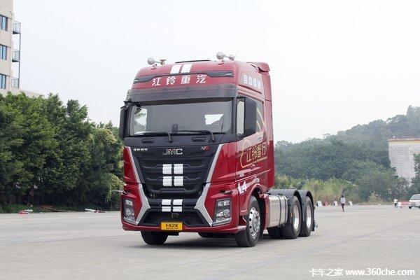 新车促销江铃威龙HV5牵引售37.88万起
