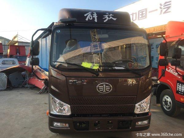 新车促销曲靖解放J6F载货车现售10.3万