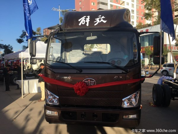 包牌10.3万元文山解放J6F载货车促销中