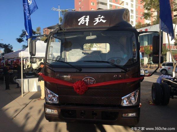 仅售8.6万元红河解放J6F载货车促销中