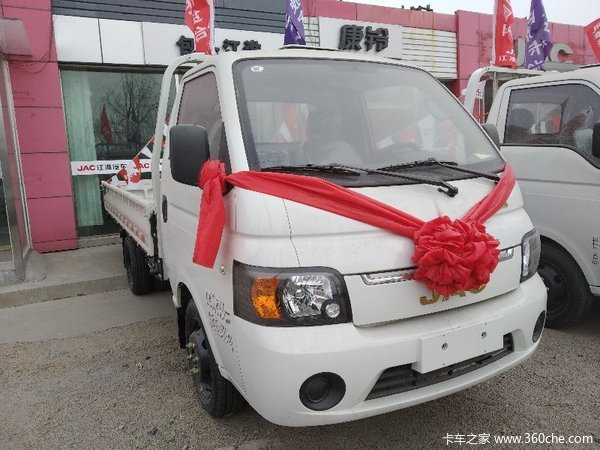 直降0.2万元包头江淮康铃X5载货车促销