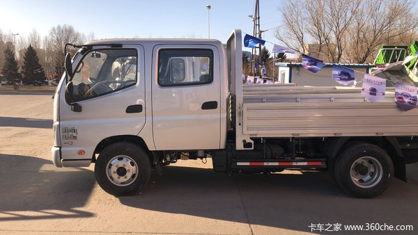 直降0.2万元哈尔滨福田M3载货车促销