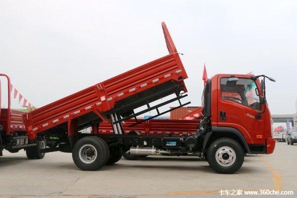 直降0.5万送油卡江门大运自卸车促销