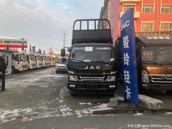 直降0.6万元哈尔滨骏铃G系自卸车促销