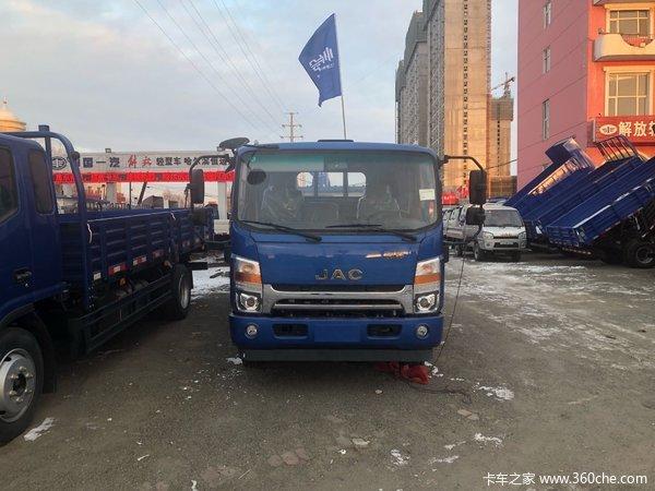直降0.3万元哈尔滨帅铃H380载货车促销