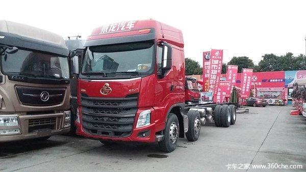 新车到店绵阳乘龙H7载货车仅售31万元