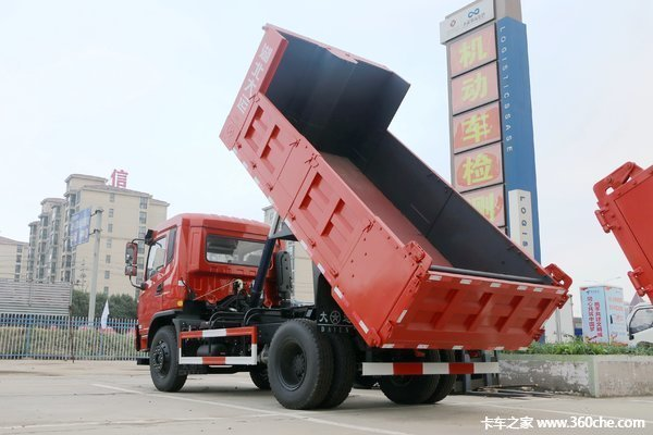 新车促销湛江大运风度自卸售18.2万起