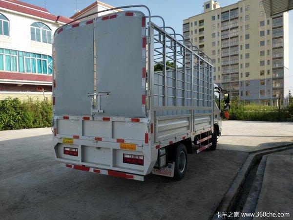 最后1台茂名帅铃H载货车仅售11.78万元