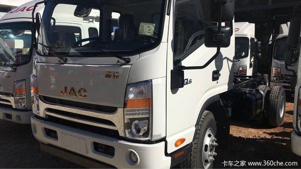新车优惠帅铃Q6154马力包牌价16.46万元