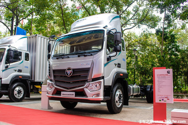 新车促销海口欧马可S5载货车售16.4万