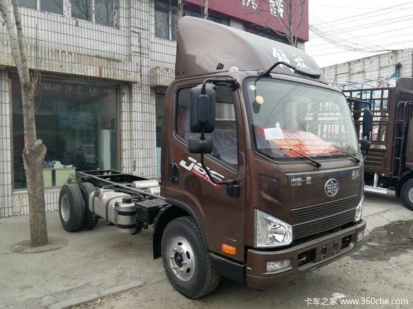 新车优惠唐山J6F载货车仅售12.2万元