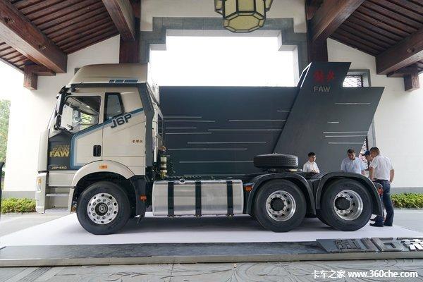 新车促销茂名市解放J6P现售42.35万起