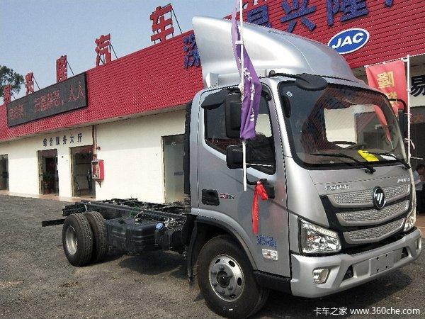 新车促销深圳欧马可S3载货车现售11.2万