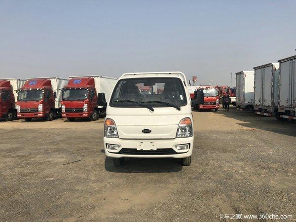 直降0.2万元北京锐航X1载货车促销中