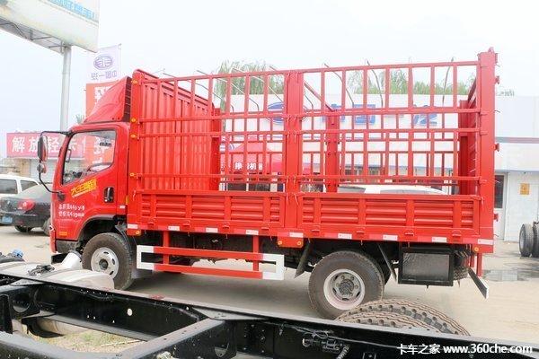 新车促销茂名解放虎V载货车现售14.8万