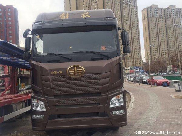新车促销长春解放JH6载货车现售32.5万