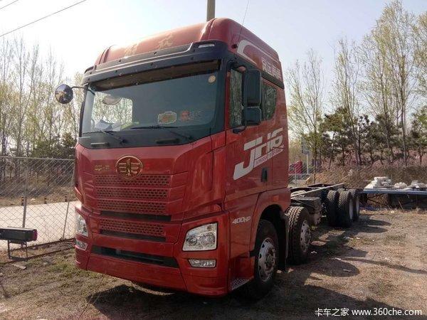 冲刺销量聊城解放JH6载货车仅售33万元