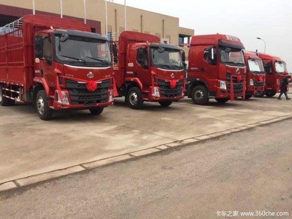 南充恒辉汽贸乘龙H5载货车成功交付客户