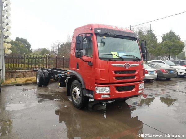 国六排放上海解放龙V220马力售13.8万