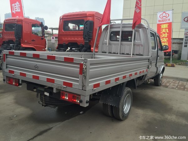 冲刺销量无锡新豹载货车仅售4.75万元