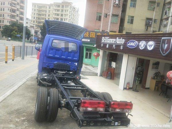 新车促销深圳凯普特K6载货车现售9万元