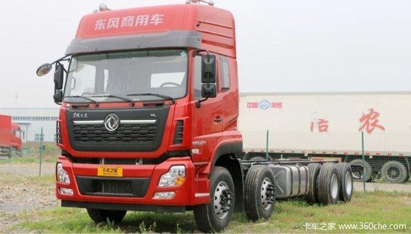 新车到店上海东风天龙VL底盘售31.2万