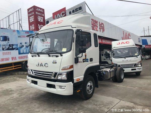冲刺销量贵阳骏铃V8载货车仅售13.68万