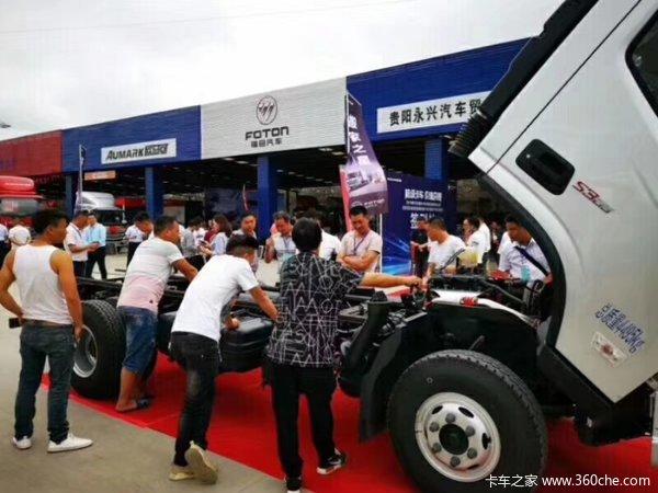 订单10台欧马可S3超级卡车贵阳受热捧