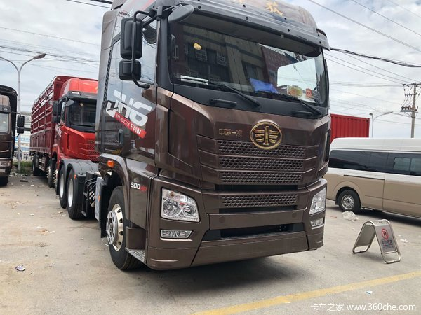 直降0.6万元上海解放JH6牵引车促销中
