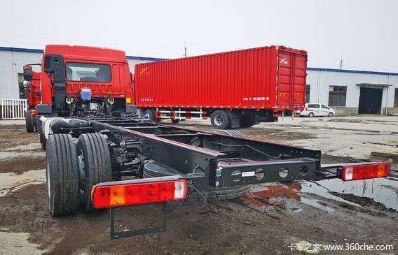新车优惠济宁龙V单桥180马力载货车