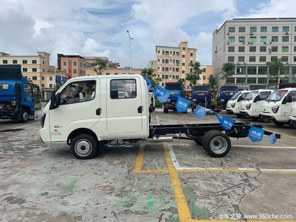 国六新车深圳缔途GX载货车现售5.95万