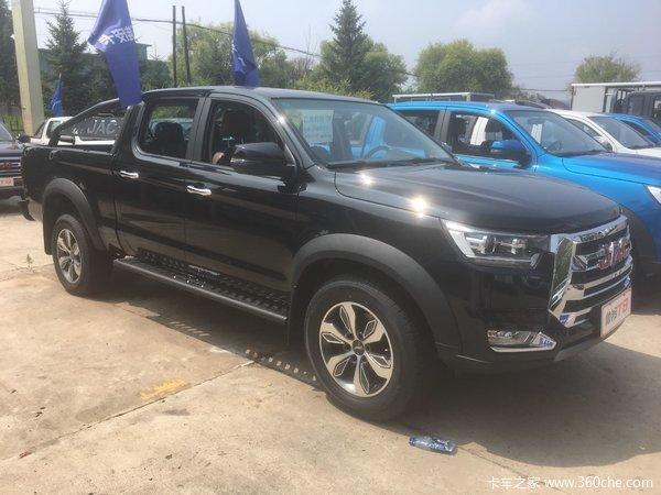 新车促销延边江淮T8皮卡现售12.48万元