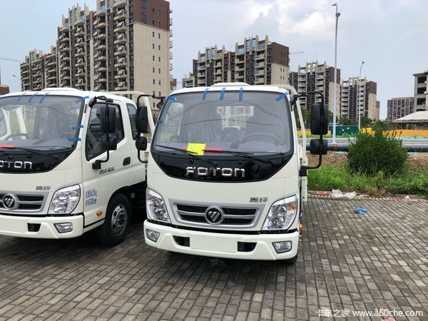 新车到店宿迁恒福奥铃捷运售7.35万