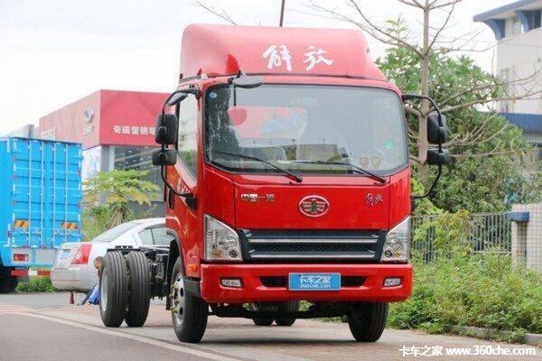 回馈用户重庆虎VN载货底盘钜惠0.5万元