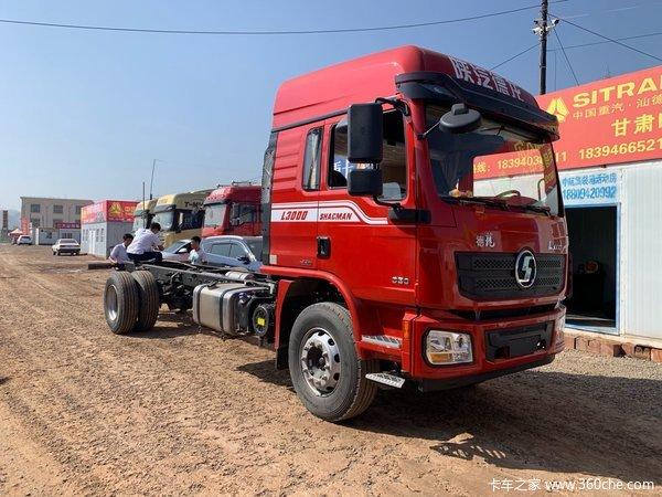 新车促销兰州德龙L3000载货车售17.5万