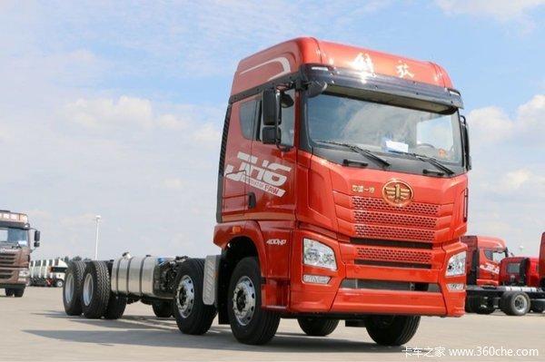 仅售32.4万上海青岛解放8x4载货促销中