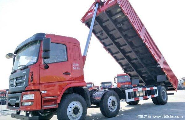 仅售24.5万上海陕汽轩德平板自卸促销