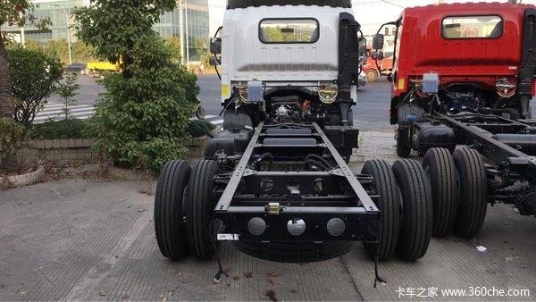 月底冲量上海一汽解放4.2轻卡售8.25万