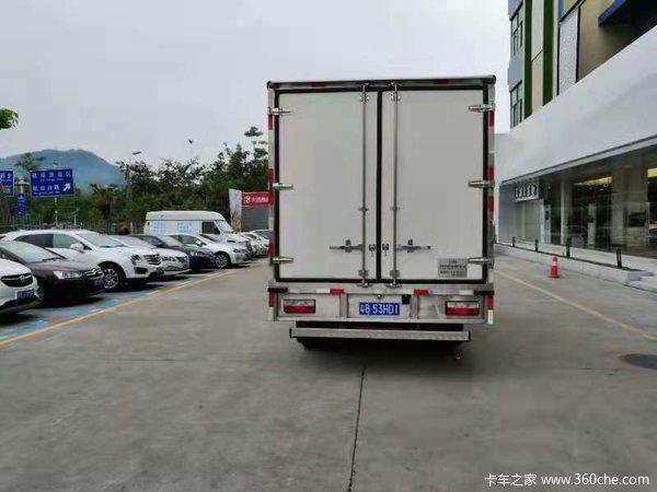 新车促销深圳凯普特K6冷藏车现售12.3万