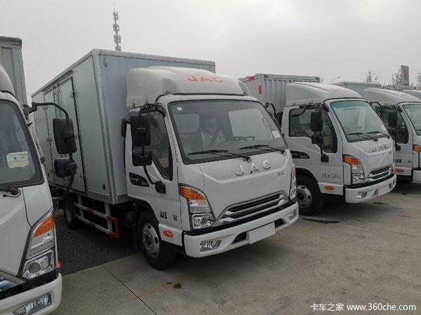 新车优惠唐山康铃J5载货车仅售8.3万
