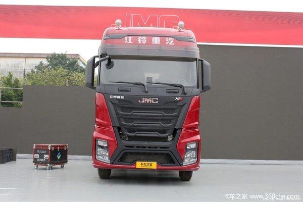 新车促销重庆威龙HV5牵引车现售39.8万