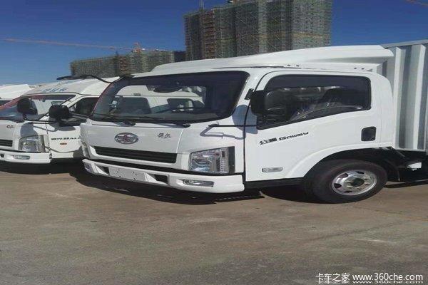 新车到店赣州解放公狮载货车仅售7.8万
