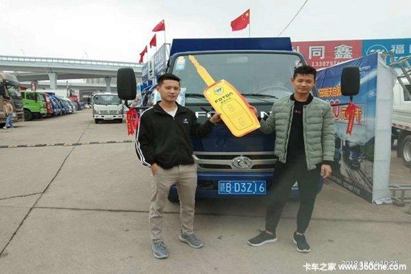 共交车2台赣州瑞沃E3自卸车成功交付