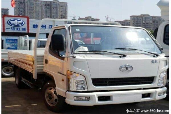 新车到店赣州解放霸铃载货车售7.18万起