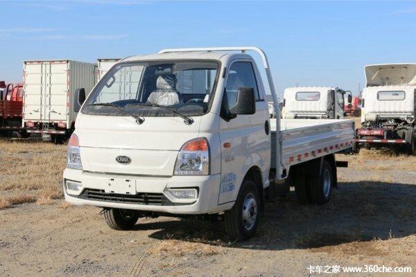 直降0.3万元赣州凯马锐航载货车促销中