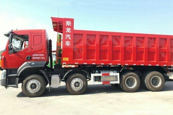 新车到店吉安乘龙H5自卸车仅售26.8万