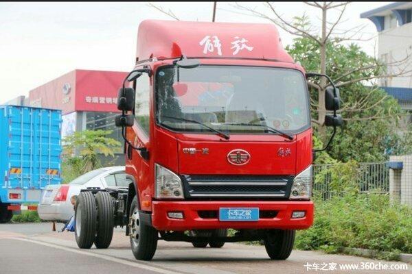 仅售8.3万元抚州解放虎VN载货车促销中