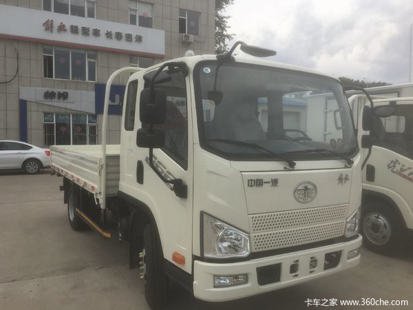 仅售8.3万元长春J6F载货车优惠促销中